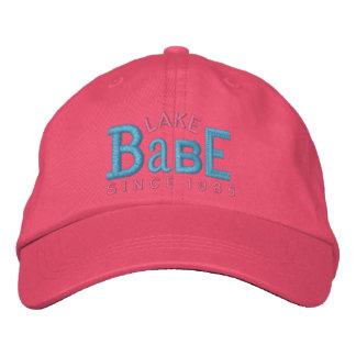 Gorra del bordado del bebé del lago gorras de béisbol bordadas