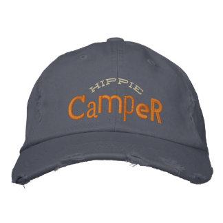 Gorra del bordado del campista del Hippie Gorras Bordadas