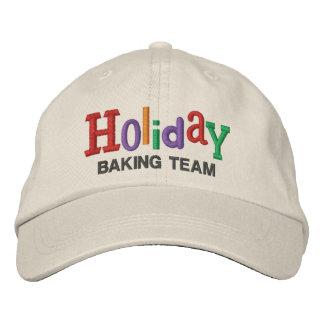 Gorra del bordado del equipo de la hornada del día gorra de béisbol bordada