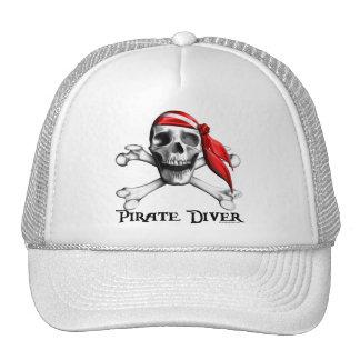 Gorra del buceador del pirata