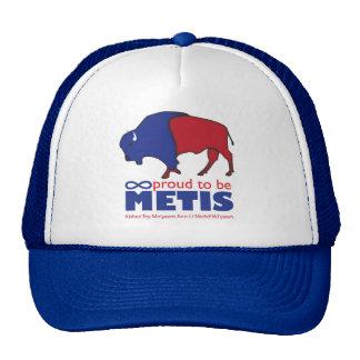 Gorra del búfalo de Metis