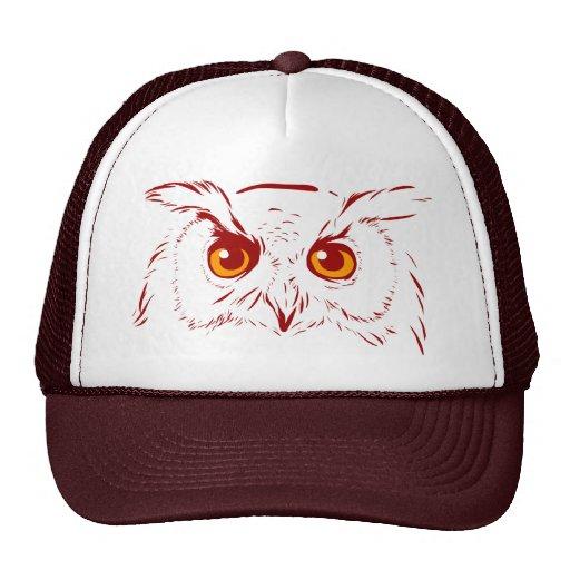 Gorra del búho de Digitaces del búho