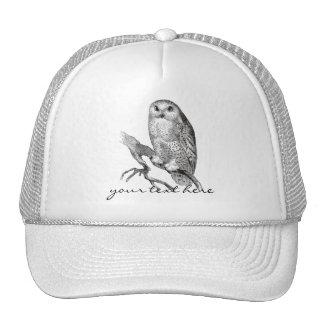 Gorra del búho Nevado del vintage