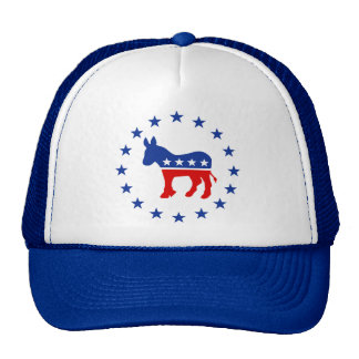 Gorra del burro de Demócrata