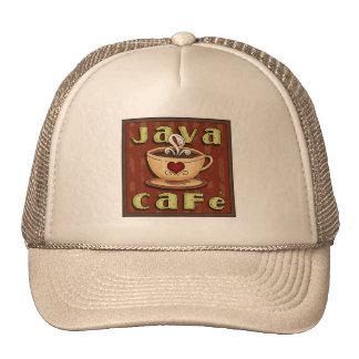 Gorra del café del arte de la palabra de la