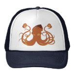 Gorra del calamar gigante del vector