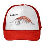 Gorra del camarón antártico