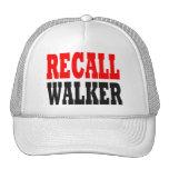 Gorra del caminante de memoria