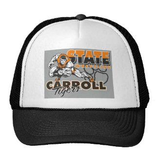 Gorra del camionero con diseño de lucha de los tig