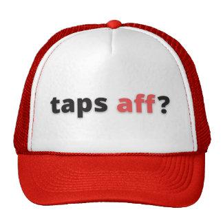 Gorra del camionero de Aff de los golpecitos