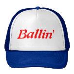 Gorra del camionero de Ballin