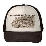 Gorra del camionero de Brown de la seta de la mori