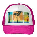 Gorra del camionero de California del Palm Springs