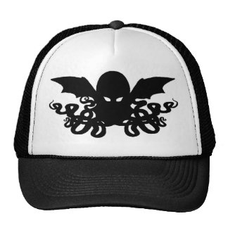 Gorra del camionero de Cthulhu - negro