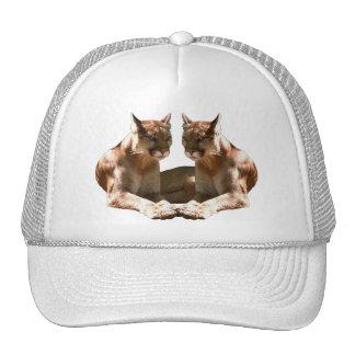 """Gorra del camionero de """"dos leones de montaña"""""""