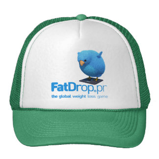 Gorra del camionero de FatDrop.pr