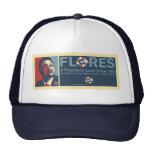 Gorra del camionero de Flores del voto 4