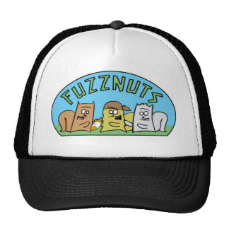 ¡Gorra del camionero de Fuzznuts! Gorro De Camionero