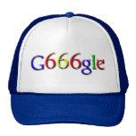 Gorra del camionero de G666gle