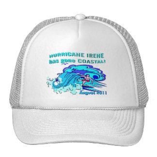 Gorra del camionero de Irene del huracán