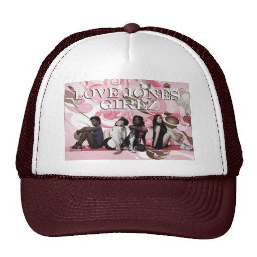 Gorra del camionero de Jones Girlz del amor