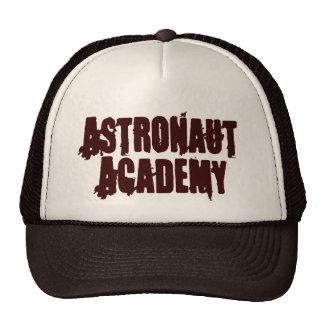 Gorra del camionero de la academia del astronauta
