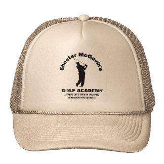 Gorra del camionero de la academia del golf de