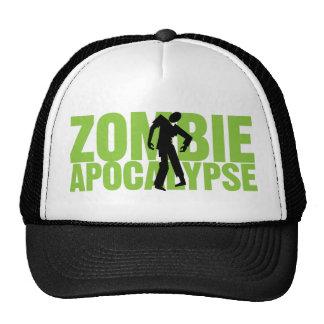 Gorra del camionero de la apocalipsis del zombi