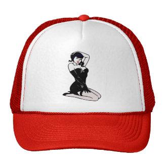 Gorra del camionero de la bailarina exótica