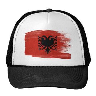 Gorra del camionero de la bandera de Albania