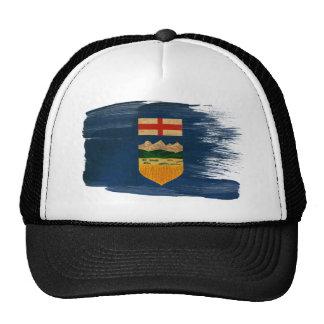 Gorra del camionero de la bandera de Alberta