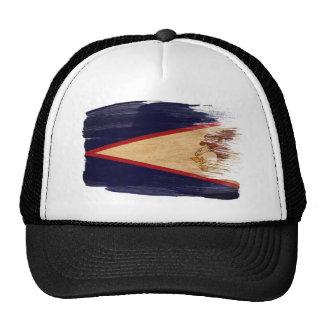 Gorra del camionero de la bandera de American Samo