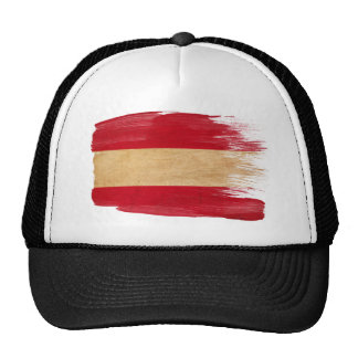 Gorra del camionero de la bandera de Austria