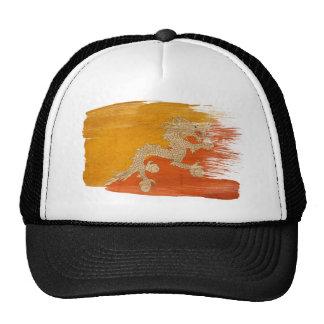 Gorra del camionero de la bandera de Bhután