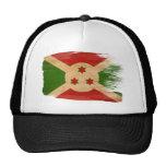 Gorra del camionero de la bandera de Burundi