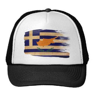 Gorra del camionero de la bandera de Chipre del Gr