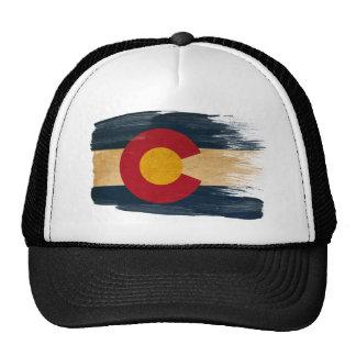 Gorra del camionero de la bandera de Colorado