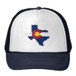 Gorra del camionero de la bandera de Colorado del