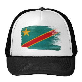 Gorra del camionero de la bandera de Congo
