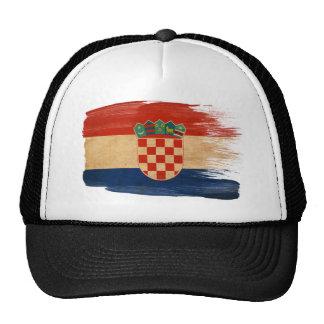 Gorra del camionero de la bandera de Croacia
