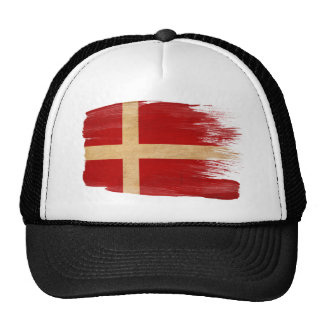 Gorra del camionero de la bandera de Dinamarca