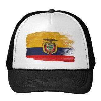 Gorra del camionero de la bandera de Ecuador