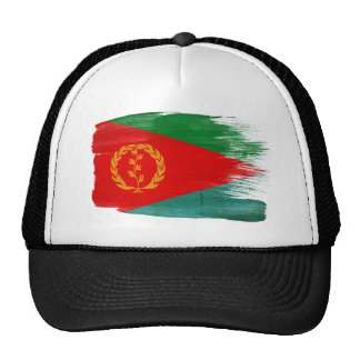 Gorra del camionero de la bandera de Eritrea