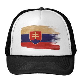 Gorra del camionero de la bandera de Eslovaquia