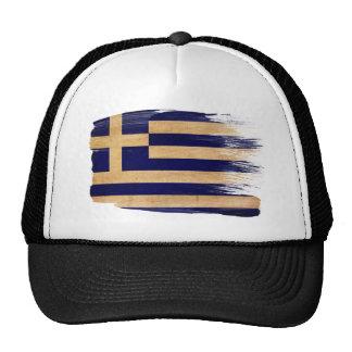 Gorra del camionero de la bandera de Grecia