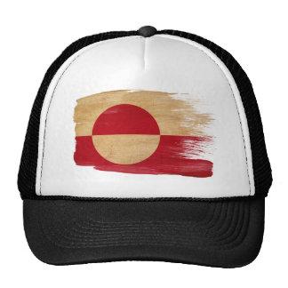 Gorra del camionero de la bandera de Groenlandia