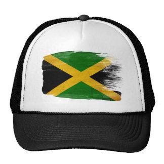 Gorra del camionero de la bandera de Jamaica