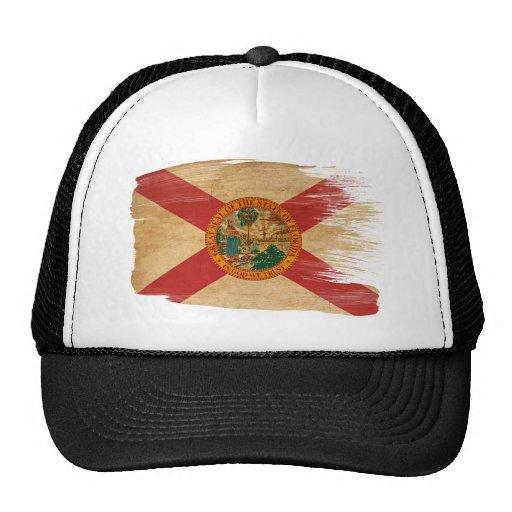Gorra del camionero de la bandera de la Florida
