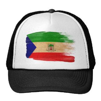 Gorra del camionero de la bandera de la Guinea Ecu