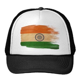 Gorra del camionero de la bandera de la India